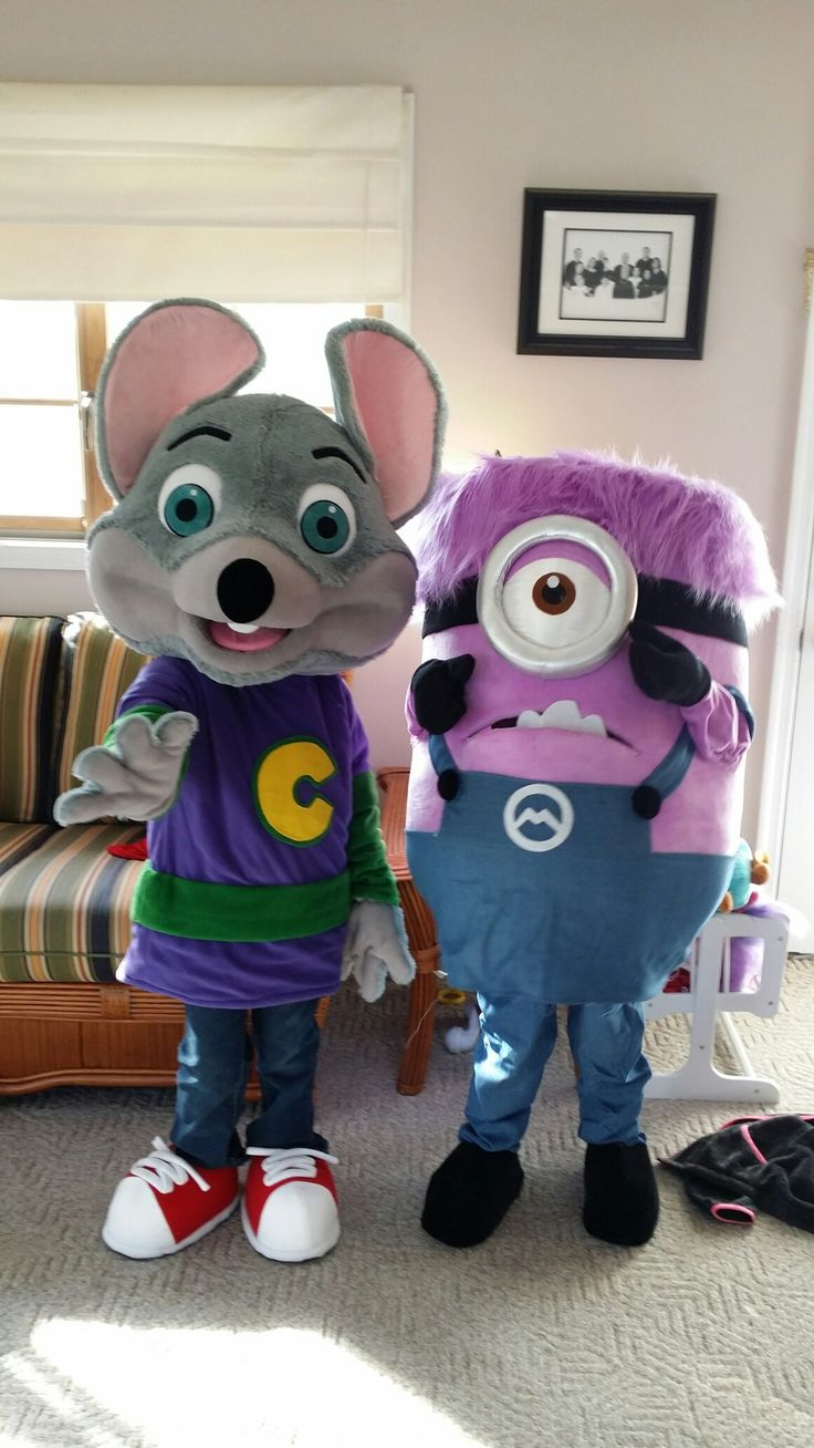 Kids Chucky cheese costume and kids evil minion costume ...
