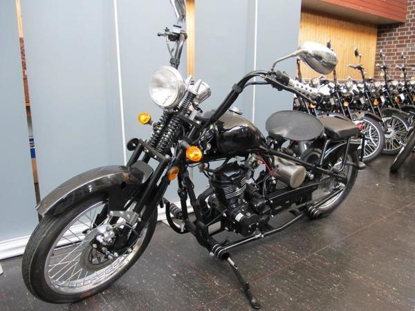 Motorrad 125 ccm Chopper Old School Style Bobber HINGUCKER: Kleinanzeigen aus Eislingen - Rubrik Chopper