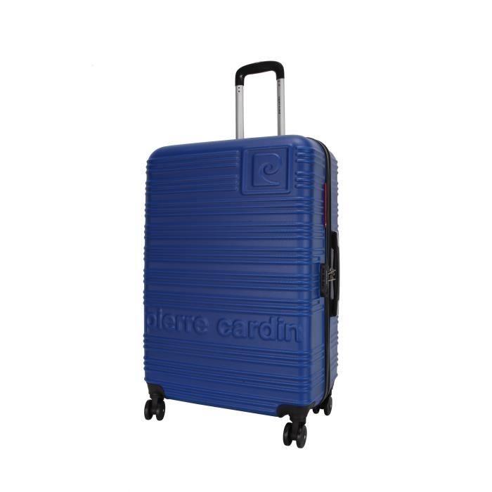 PIERRE CARDIN VALISE CABINE RIGIDE ABS 8 ROUES 50CM IBIZA BLEU  #atlasformen #avis #discount #livraison #commande #printemps #spring #voyage #travel #valise