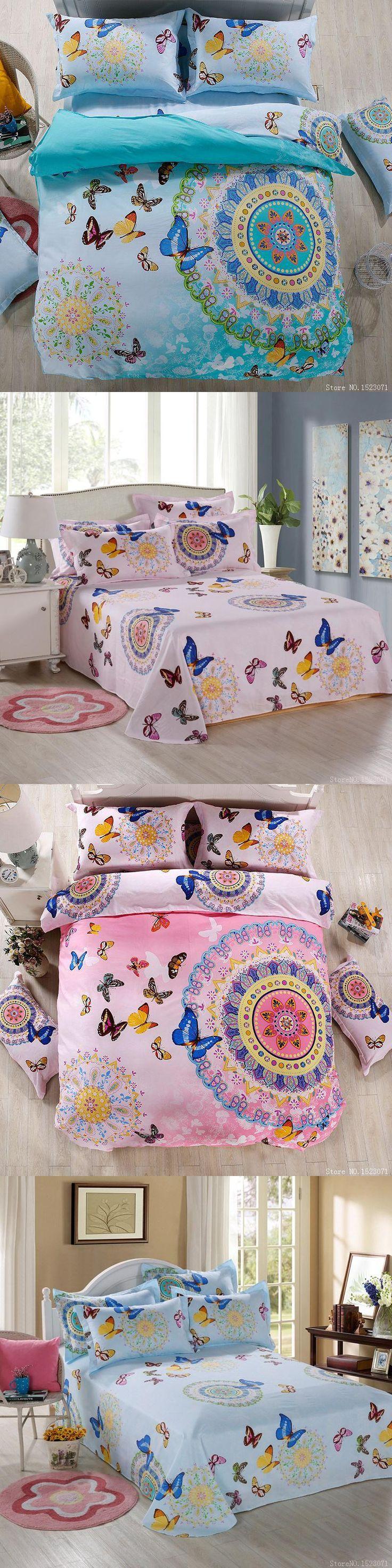 Best Butterfly bedding set ideas on Pinterest