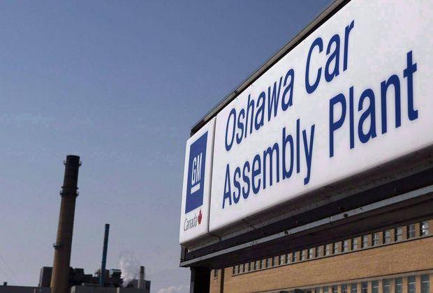 The Canadian Press Oshawa Gm Oshawa General Motors