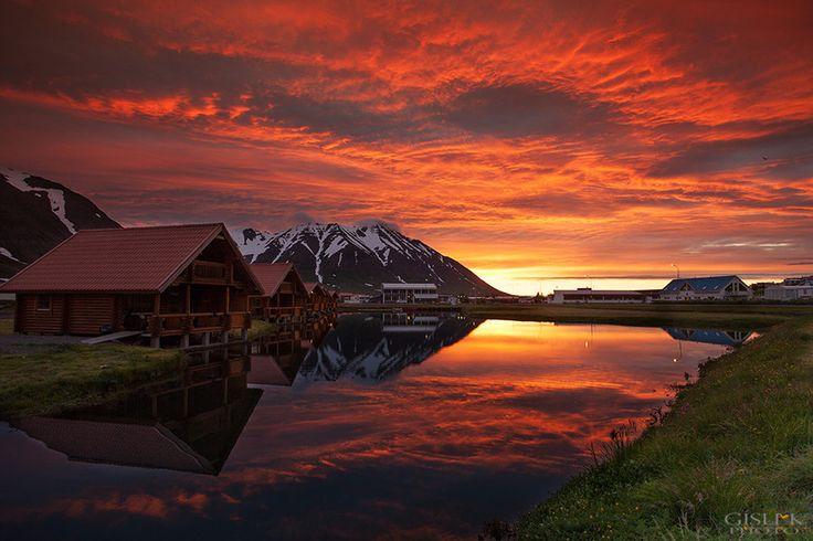 Brimnes Hotel (Iceland) by Gisli Kristinsson