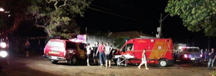 Seis pessoas ficam gravemente feridas em acidente com ambulância