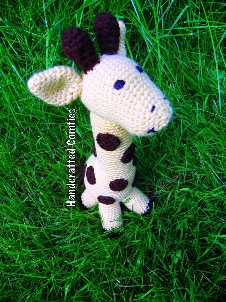 Stuffed Giraffe - pinned by pin4etsy.com