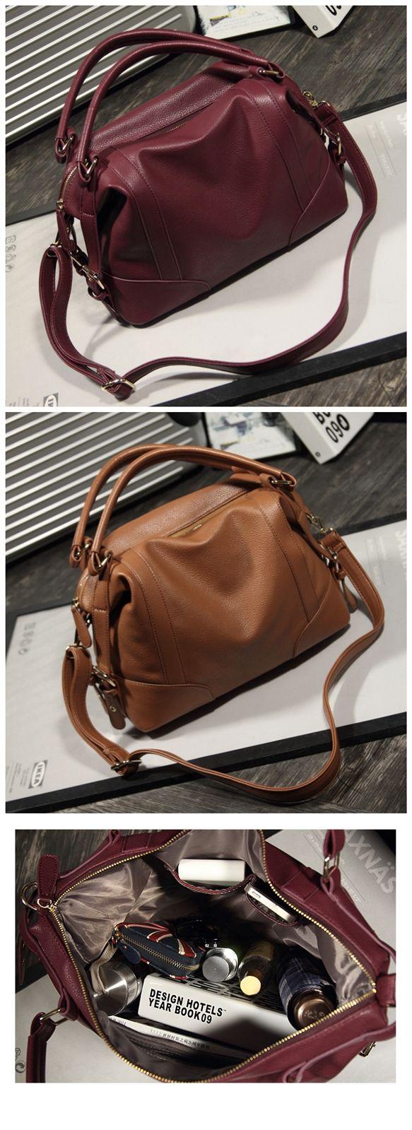 Women's Handbag Female PU Leather Bags Handbags Ladies Portable Shoulder Bag Office Ladies Hobos Bag Totes Bagail.com