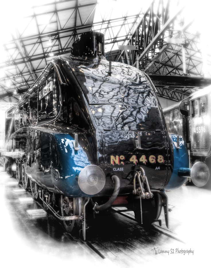 The Mallard in the National Railway Museum York.