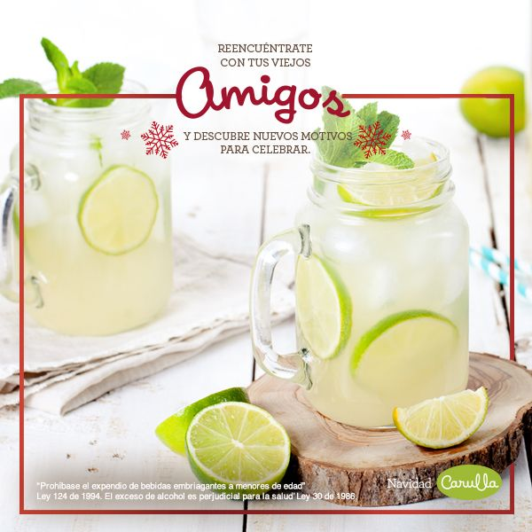 Ingredientes: 4 Limones 1 Atado de hierbabuena fresca 6 Cucharadas de azúcar ½ Pepino cohombro cortado en rodajas delgadas 2 Tazas de ron blanco Soda Hielo  Preparación en 4 pasos: 1. Distribuye en seis vasos largos la hierbabuena, el azúcar y el jugo de tres limones.  2.Con la cuchara, mezcla bien haciendo presión a la anterior mezcla en cada vaso.  3. Reparte las rodajas de pepino y llena cada uno con hielo.  4. Sirve un poco de ron y termine con soda.