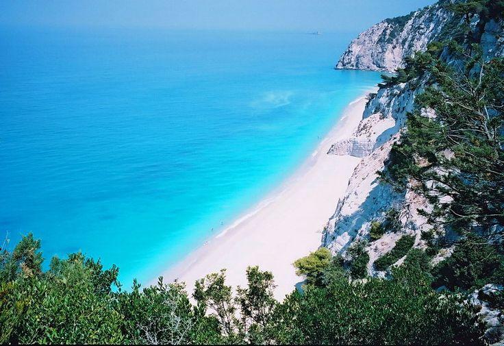Lefkada - Egremni beach