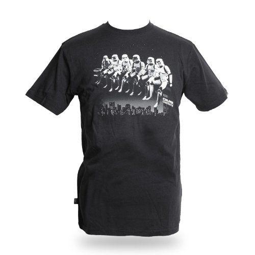 Star Wars - camiseta retro de las Tropas de Asalto - de marca - estampado de gran calidad en blanco y negro - camiseta moderna para fans - negra - XXL #camiseta #realidadaumentada #ideas #regalo