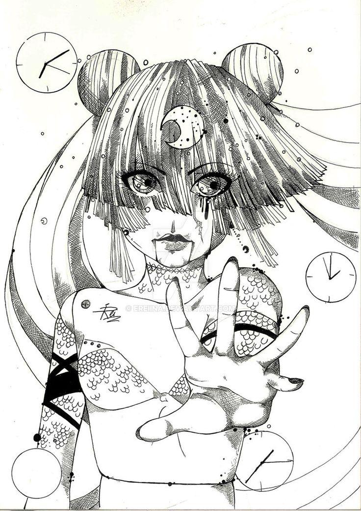 moon doll by eREIina.deviantart.com on @DeviantArt