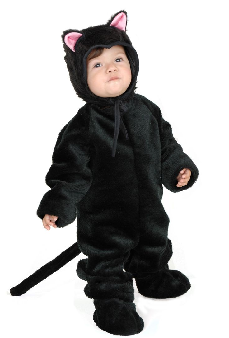 black cat costume - Baby Cat Halloween Costume