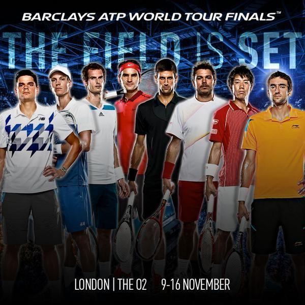 Programme Masters de Londres 2014 - http://www.actusports.fr/123570/programme-masters-londres-2014/