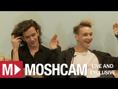 The 1975 talk Miley Cyrus, weed, Frozen & playing Anti-Christ live | Moshcam Interview - YouTube fucking amazing interview