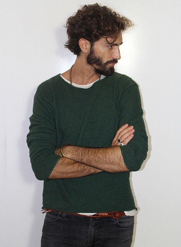Perfect Wavy Men's Hairstyles: Maximiliano Patane