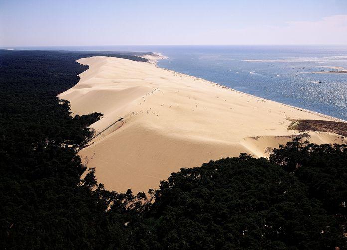 Aquitaine : littoral, dune du Pyla  #aquitaine #pyla #littoral