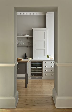 Bespoke Oak Kitchens - Sussex Park House 2...love the color combination. Yes Please!