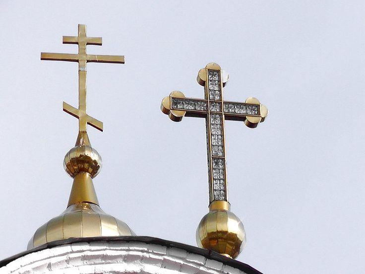 Елец.Великокняжеская церковь.Хрустальный крест.