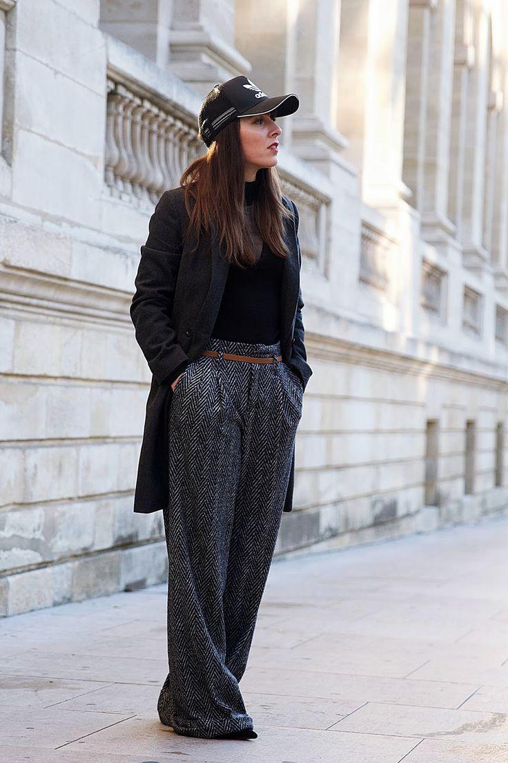 Le pantalon large ... and Adidas.. - Le Dressing à Paillettes