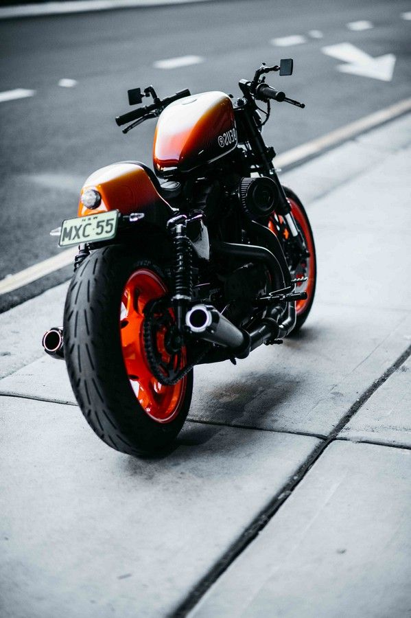 custom xl sportster post2004 by deus