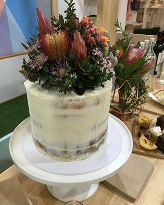 Cake topper native flowers cake top Peninsula Wild Flower