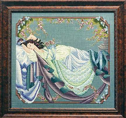 Mirabilia Sleeping Beauty: Cross Stitch, Sleep Beautiful, Sleeping Beauty, Crosses Stitches Patterns, Crossstitch, Cross Stitch, Stitches Lady, Beautiful Art, Only Patterns