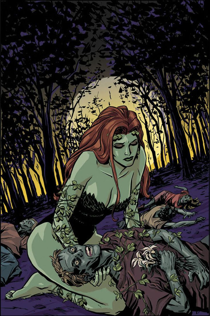 Poison Ivy  Batman: Gotham Knights #61 cover by Cliff Chiang
