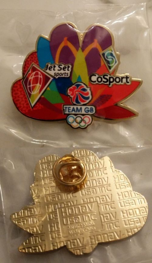 Olympics 27291: 2016 Rio Brazil Olympics Pin - Cosport Jet Set Sports Team Gb Sandals Uk Britain -> BUY IT NOW ONLY: $50 on eBay!