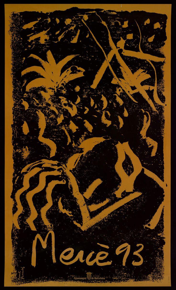 Cartel Fiestas de la Mercé 1993