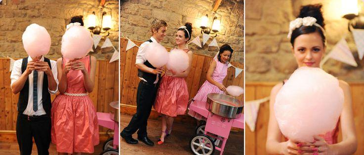 Wypożyczenie maszyny do waty cukrowej wraz z obsługą www.fabrykaslubu.pl