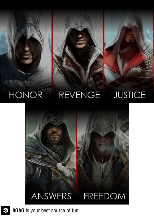 Assassins Creed main ideas!