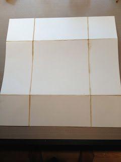 Kristinas kortblogg: Brettekort tutorial / folding card tutorial