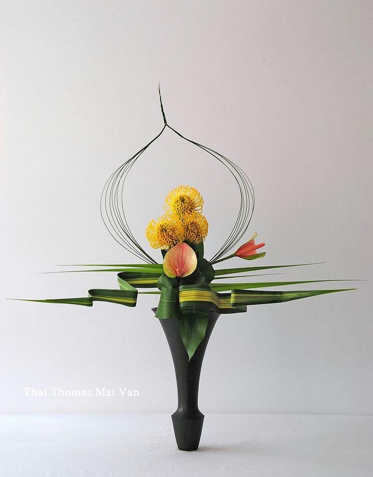 THAI MAI VAN THOMAS - ARTISAN ART/FLORAL DESIGNER/EDUCATOR – FRANCE