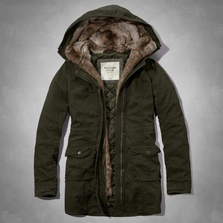 17 Best images about Fur lined parka on Pinterest | Coats, Rabbit ...