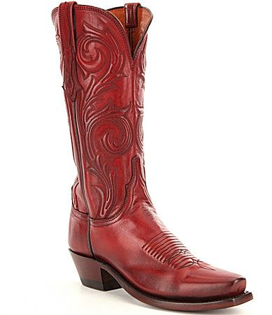 Lucchese Nicole Boots #Dillards