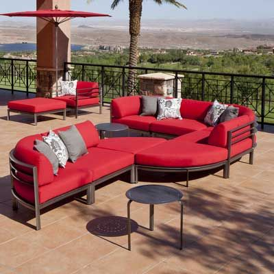 High Quality Sunnyland Patio Furniture   Southern Cay Modular Curved Corner By Winston    Dallas Fort Worthu0027s Outdoor Great Ideas