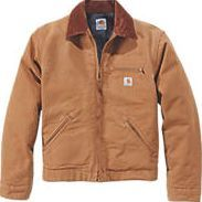 Carhartt Detroit Jacket Duck Brown X Large 58`` Work jacket with corduroy-trimmed collar, blanket lining in body and quilted nylon lining in sleeves. Ergonomically designed, articulated action back for greater range of movement. 407g/m². http://www.comparestoreprices.co.uk/january-2017-9/carhartt-detroit-jacket-duck-brown-x-large-58.asp