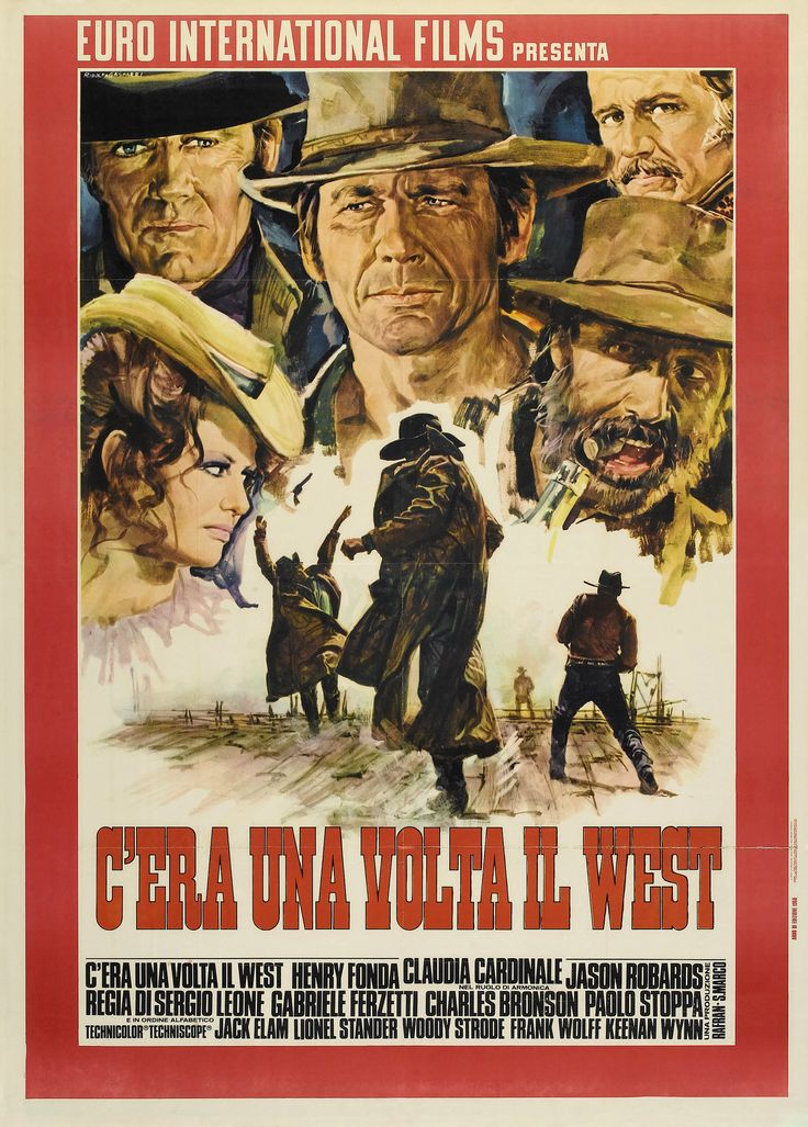 Once Upon a Time in the West - 1968 Italian epic spaghetti western film directed by Sergio Leone