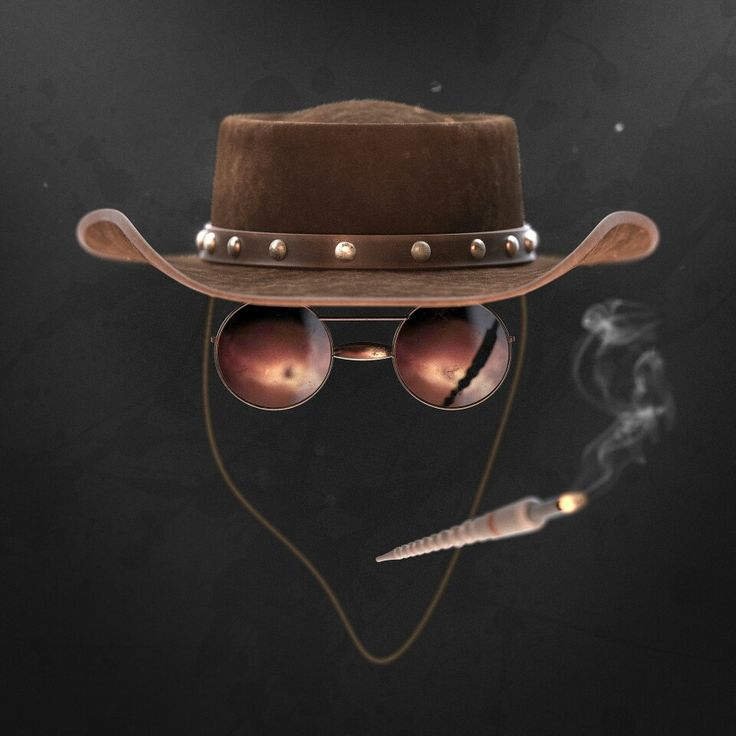 """Guess who?"" Django - Minimalistic art. Modeled in NX and rendered in Keyshot."