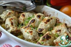 Запеченная фаршированная куриная грудка - кулинарный рецепт