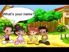 ¿Cómo estás? Estoy bien. (Canción de felicitación) - canción de Inglés para Niños - YouTube