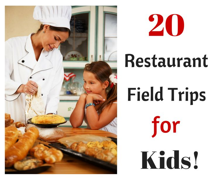 20 Restaurant Field Trips for Kids including Panera Bread, Applebee's and Dairy Queen!