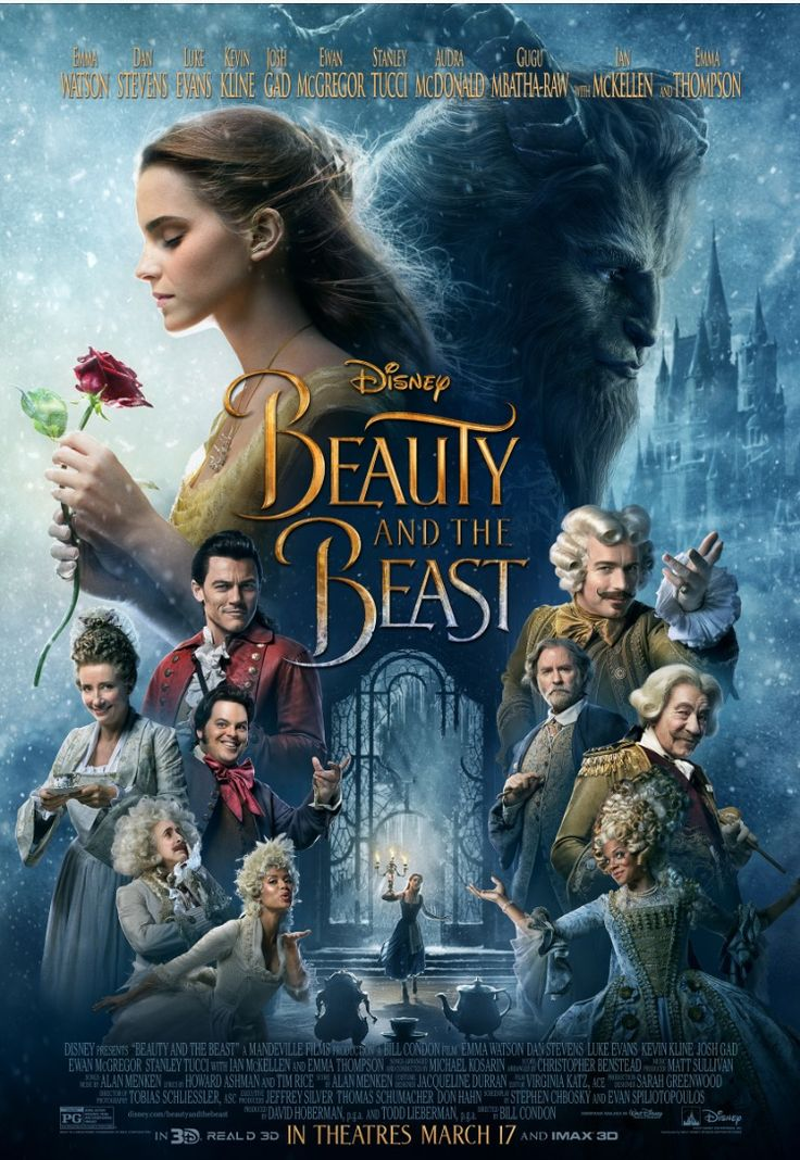 New Trailer & Poster from Disney's Live Action Beauty & the Beast