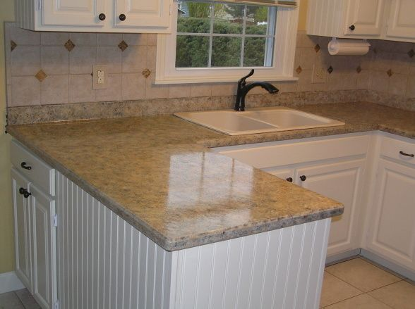 Paint Your Countertop To Look Like Granite : AWESOME! Painted countertops to look like granite! Im totally doing ...