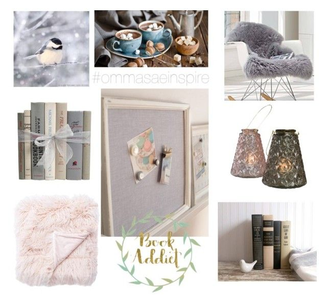 """Cocon Hivernal / Winter Cocoon"" by ommasae on Polyvore featuring interior, interiors, interior design, maison, home decor, interior decorating, Ciel et Rigby & Mac"