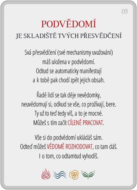 Portál pro osobní rozvoj změnou podvědomí a vlastní přitažlivosti: Člověče, poznej se — 5/24: Podvědomí