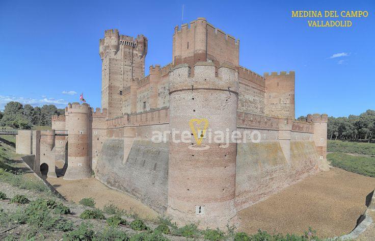 Castillo de la Mota, Medina del Campo. Provincia de Valladolid
