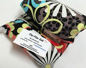 """FLAX HEATING PAD, large, Best heat pack, Microwave, Removable/Washable Cotton cover , Great Mothers day Gift, 100% flax seed """"The FLaX SaK"""""""