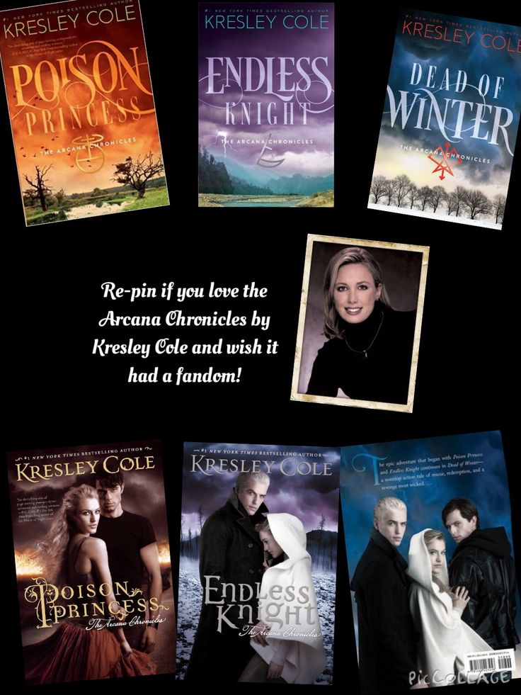Re-pin if you love the Arcana Chronicles by Kresley Cole and wish it had a fandom!