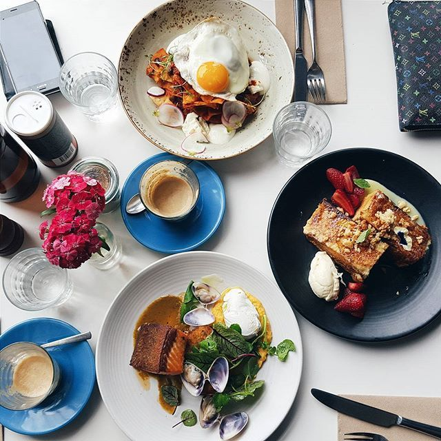 When you have to study for exams but food is more important #priorities #brunch #auctionrooms #breakfastinmelbourne