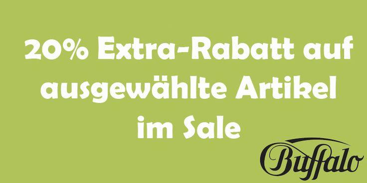 20% Zusatzrabatt bei buffalo.de #rabatt #buffalo #artikel #sale #extrarabatt #spar #gutscheinlike #gutschein